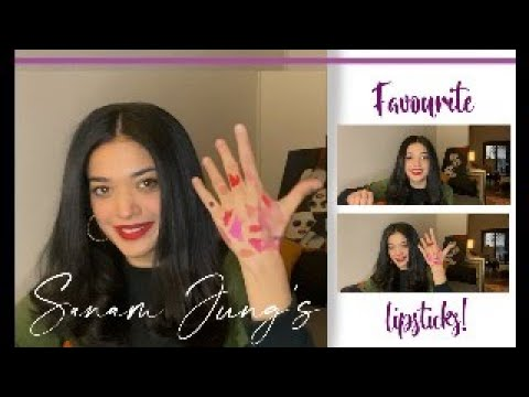 Download Sanam Jung's Favourite Lipsticks