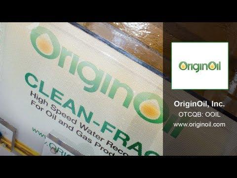 CEOLIVE.TV Interview | OriginOil (OTCQB: OOIL)