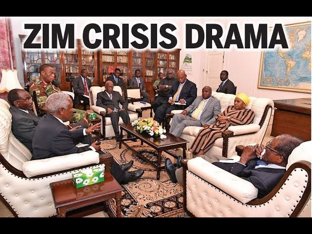 Mugabe still holed up in mansion but in Harare life continues as normal