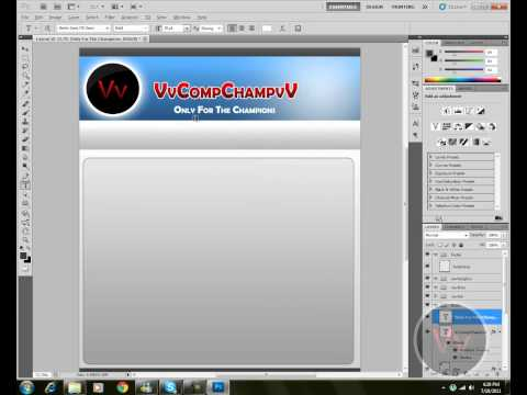 How to Create A Website Layout In Adobe Photoshop