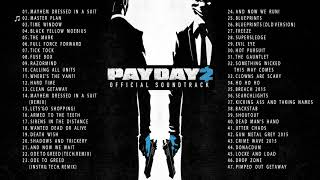 Gambar cover PAYDAY 2 - FULL SOUNDTRACK OST