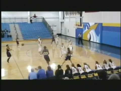 Liz Garrison #10 (white)  Waite at St Ursula Academy