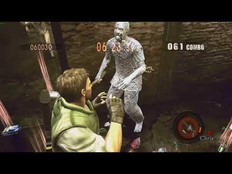 [RE5 PC] Mercenaries - Prison 'Chris STARS' 720k