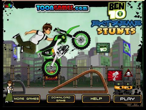 Ben 10 Games To Play Online Free Ben 10 Extreme Stunts