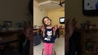cute actress sanaya performing on song of movie sanju