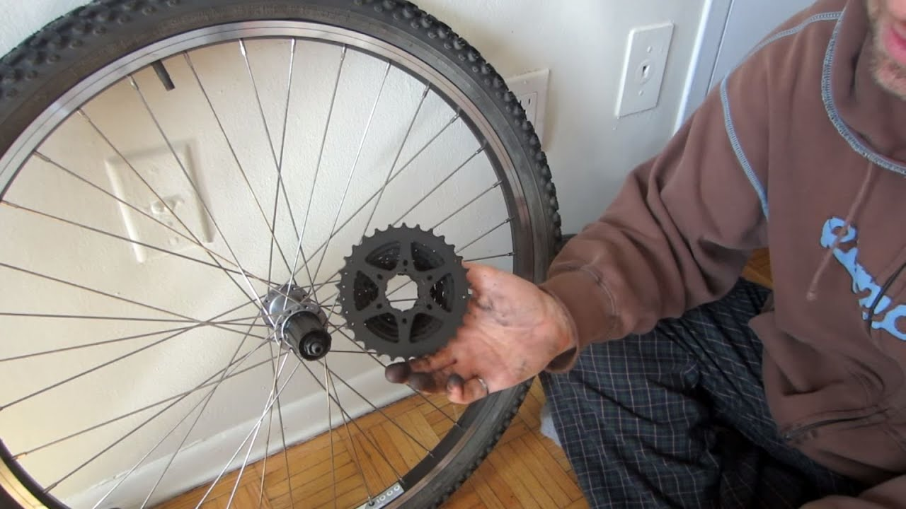 How To Upgrade A Bicycle From Freewheel To Freehub And Cassette