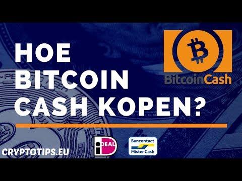 Bitcoin Cash Kopen Met IDEAL En Opslaan In Wallet (Beginner)