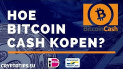Bitcoin Cash kopen met iDEAL en opslaan in wallet (Beginner)