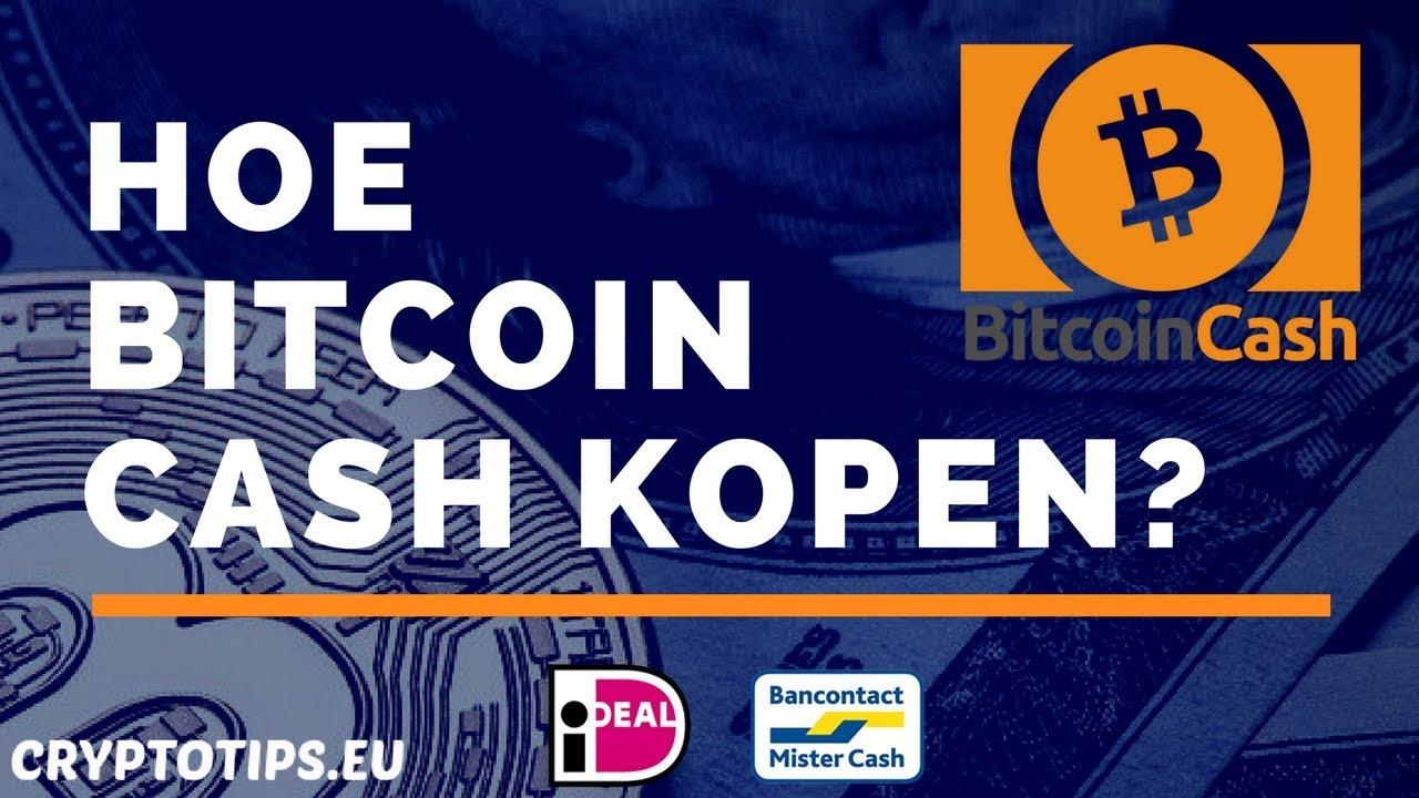 Bitcoin Cash kopen met iDEAL en opslaan in wallet (Beginner) - YouTube