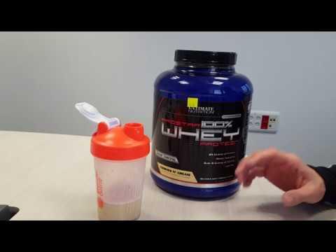 Протеин Ultimate Nutrition Prostar Whey. Плюсы и минусы