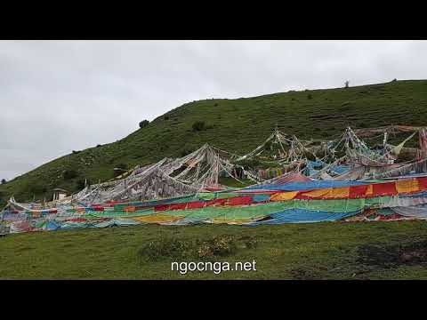 Tibetan Sky Burial Site at Langmusi (Gansu and Sichuan, China)