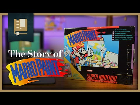 The Story of Mario Paint | Gaming Historian