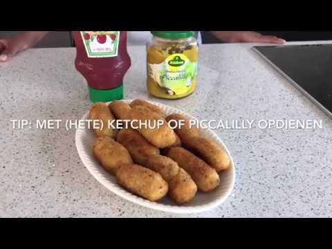 #67 Kroketten op mijn manier I Kip-kroketten van bloem I Rotrishs Kitchen I Rosita Shiamrai