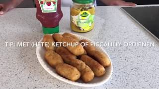 #67 Kroketten op mijn manier I Kip-kroketten van bloem I Rotrish's Kitchen I Rosita Shiamrai