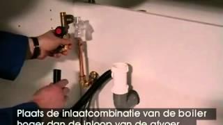 Modesto Slide-in boiler - plaatsinginstructie