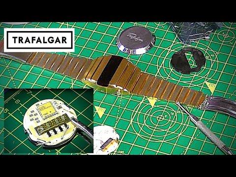 Trafalgar LED Watch Oscillator Crystal Replacement (repair Attempt).