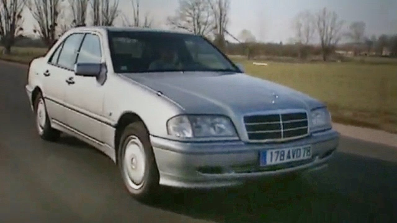 mercedes classe c 220 cdi test essai reportage fr 1998 youtube. Black Bedroom Furniture Sets. Home Design Ideas