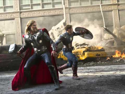 The Marvel's Avengers 2012 brrip 850mb