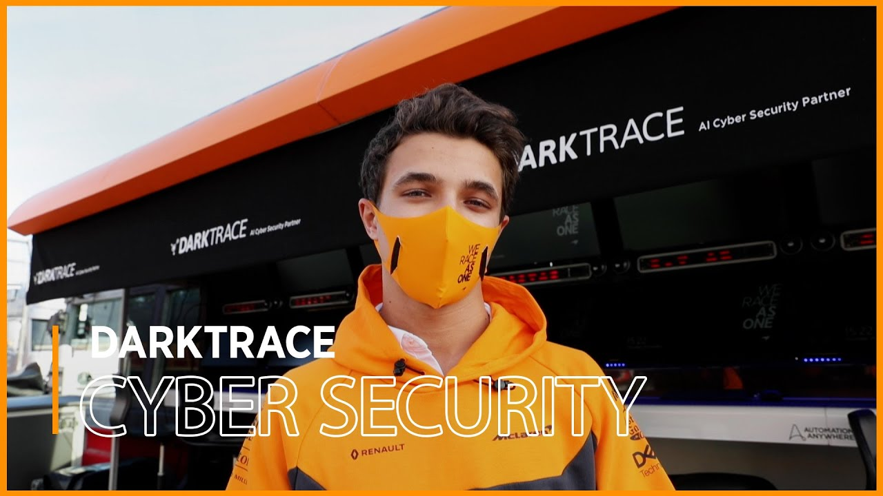 How Darktrace keep our team safe from cyber attacks during a race weekend
