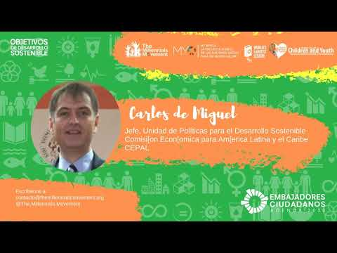 Juventudes De America Latina Frente Al Cambio Climático -  Agenda Citizen Ambassadors Program