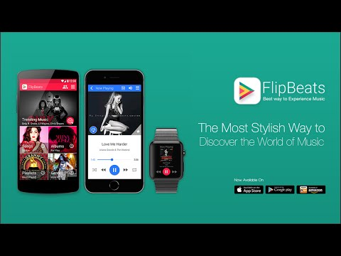 FlipBeats - Best Music App for iPhone, iPad, Apple Watch & Android