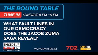 Eyewitness News Editor-in-Chief Mahlatse Mahlase in conversation with Judith February, lawyer and columnist for Eyewitness News; Amanda Gouws, Professor of Political Science at the University of Stellenbosch; and Bheki Mngomezulu, Professor of Political Science at the University of the Western Cape on Inside EWN: The Roundtable.