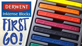 Derwent Inktense Blocks - My first go!