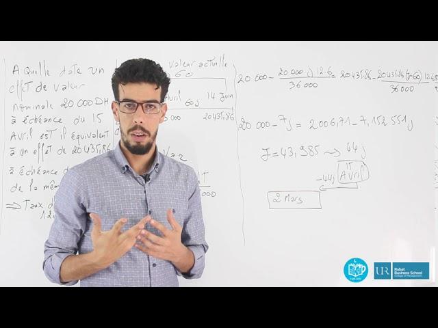 Révision Mathématiques Financières S2 #EP17_Exercice2_Equivalence des effets