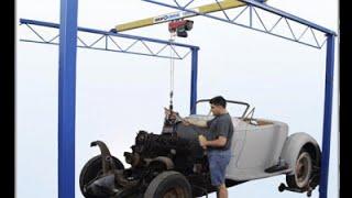 Shop Crane Hoist Overhead Lifting Systems