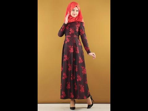 Nursima 2017 Ucuz Tesettür Abiye Elbise Modelleri