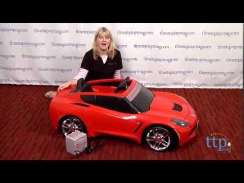 Power Wheels Corvette From Fisher-Price
