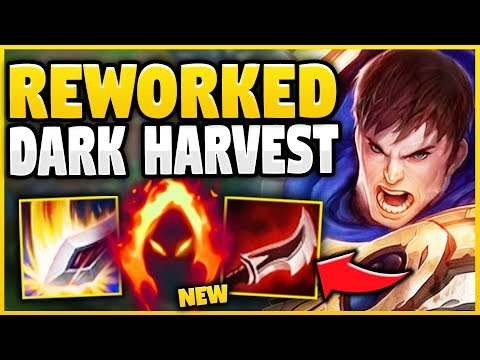 WTF!? *NEW* DARK HARVEST IS 100% BROKEN ON GAREN! (UNLIMITED HARVEST PROCS!) - League of Legends