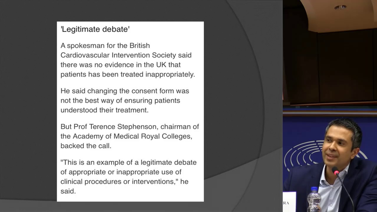 Killing for profit _ Assem Malhotra Interventional Cardiologist #cardiology