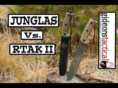 RTAK II or ESEE Junglas: Knife Comparison