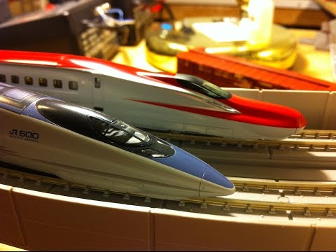 Saturday Night ~ Kato ~ N Gauge Shinkansen Bullet Trains ~ N Gauge Model Trains