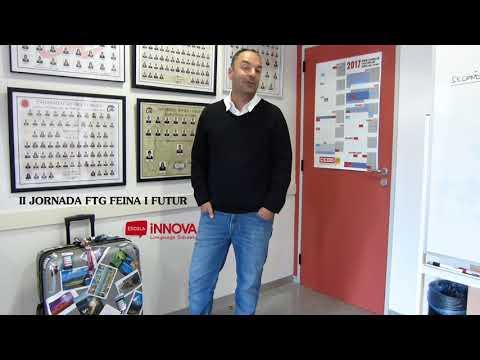 Santiago Mínguez de Escola Innova Language Schools. II Jornada FTG Feina i Futur