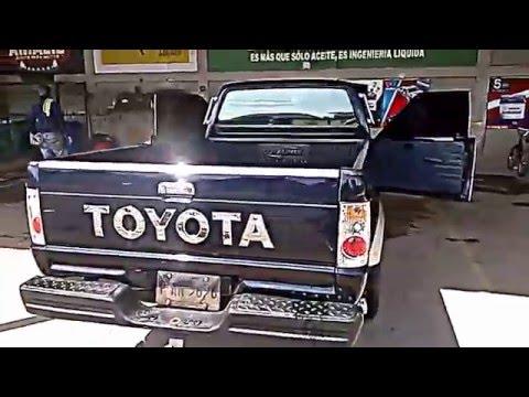 Honduras 22r 4x2 Ano 88 Santa Cruz De Yojoa Youtube