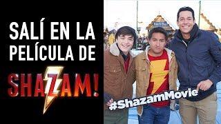 Salí en la película de Shazam 😵