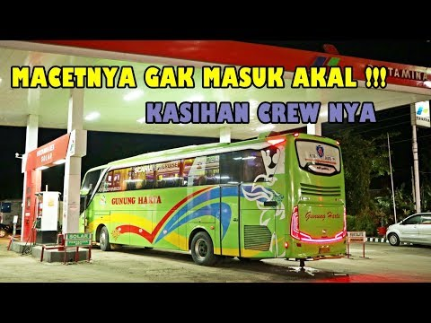 24 JAM DI BUS, SAMPE LEMES !!! | Untung Naik SCANIA | Jakarta-Blitar Gunung Harta