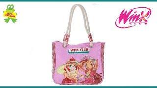 Обзор пляжной сумки для девочек Winx Club