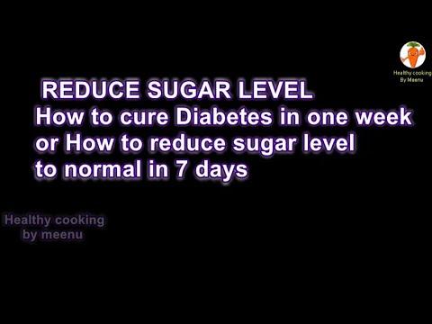 Reduce sugar level & Use Ladies Finger or Bhindi / Okra(cure diabetes)