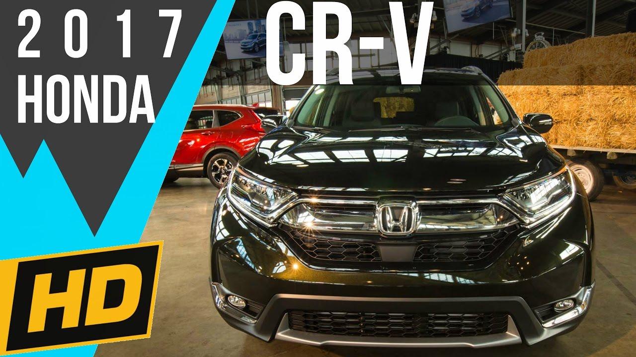 2017 Honda Cr V Gets A 190hp Turbo Engine A Volume Knob Youtube