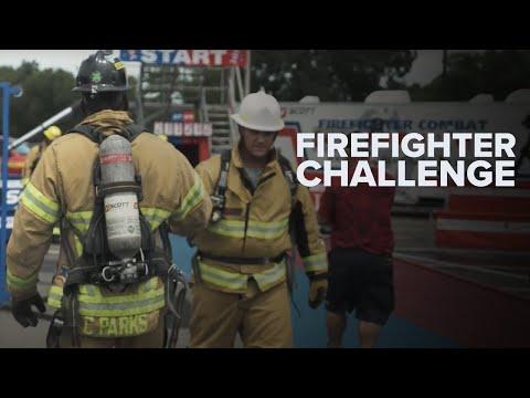 """I Won't Quit"" - Team Cellucor's Clarence Parks vs. Firefighter Combat Challenge"