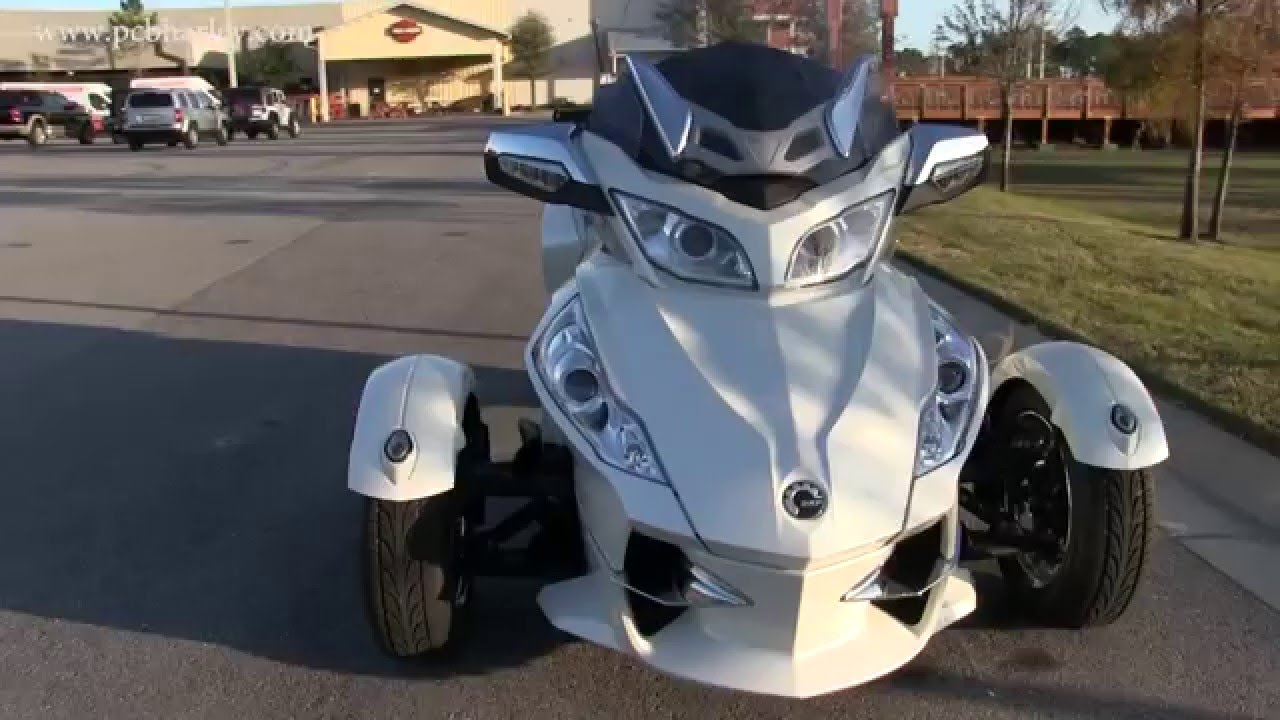 Used 2012 can am spyder rt limited