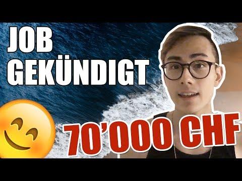 Ich habe meinen 70'000 CHF Job gekündigt 👨🏻💻😱  Sparkojote