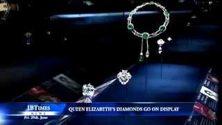 Queen Elizabeth's diamonds go on display at Buckingham Palace