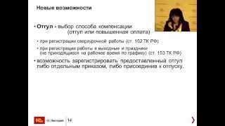 Новые возможности 1С:ЗУП ред.3.  Обзор апрель 2015