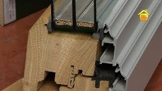видео деревянные окна со стеклопакетом