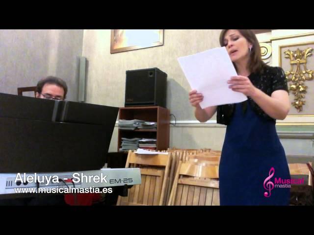 Aleluya Shrek - Musica bodas - piano y soprano Musical Mastia Wedding Alicante Murcia