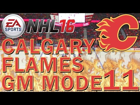 NHL 16 Calgary Flames GM Mode Commentary - 11 - AHL Playoffs + NHL Entry Draft